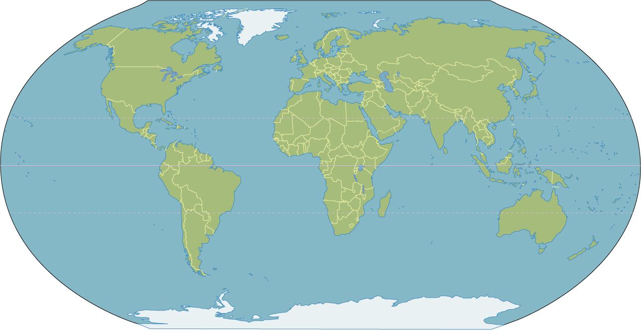 Blank World Map Clip Art ClipArt Best ClipArt Best