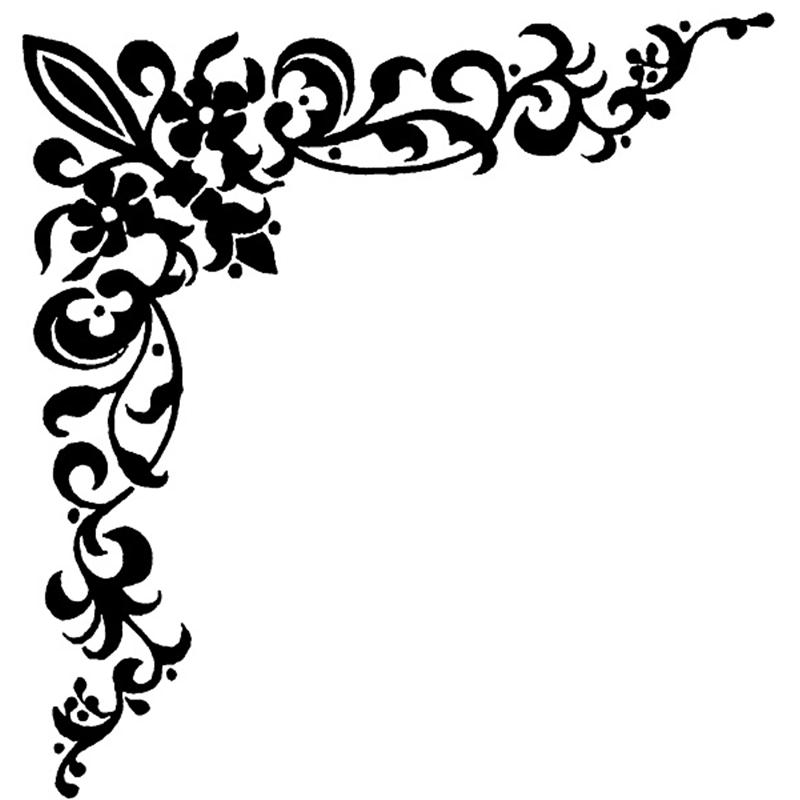 Fancy Black Borders - ClipArt Best