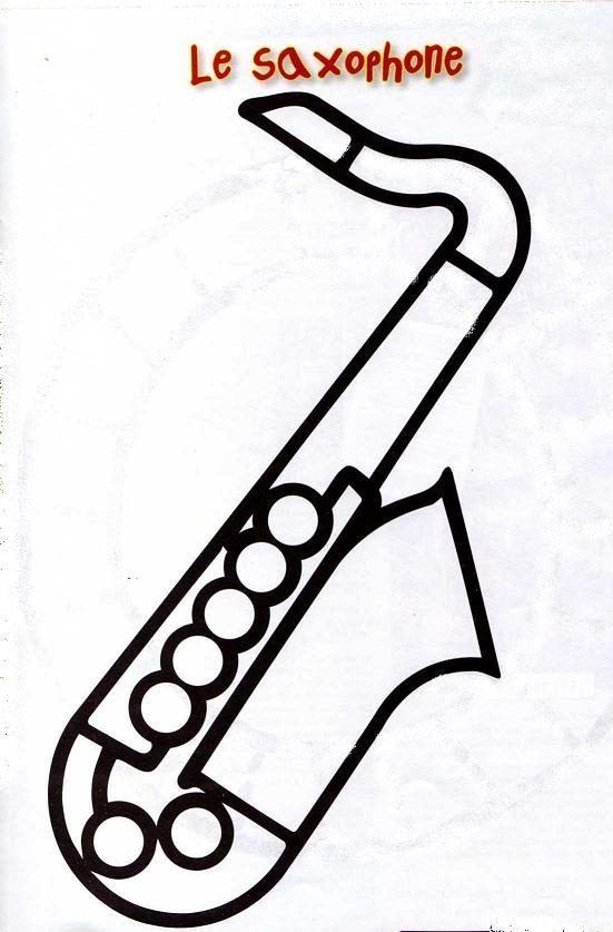 saxophone dessin clipart best. Black Bedroom Furniture Sets. Home Design Ideas
