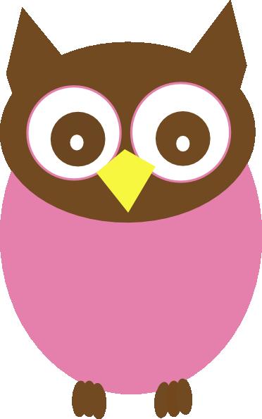 Pink Owl Clipart - ClipArt Best