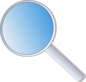 Magnifying Glass clip art - vector clip art online, royalty free ...