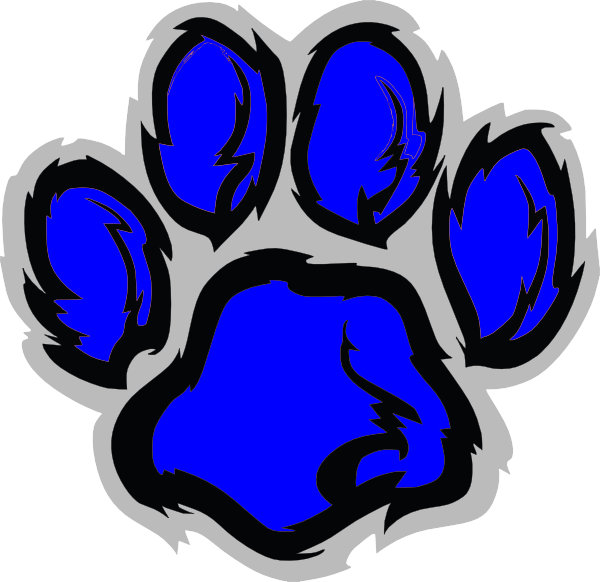 Tiger Paw Logo Tiger Paw Clip Art Vector
