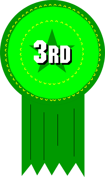 Third Place Ribbon Clipart Prize ribbon clip art