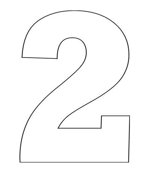 Image Result For Number Coloring Pages