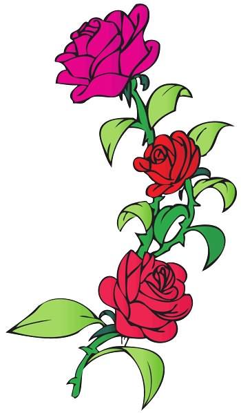 Image Result For Vine Tattoos Rose Vine Tattoo Flower Vine