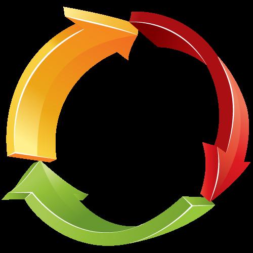 free clipart circular arrow - photo #8