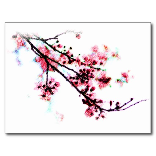 Template Cherry Blossom - ClipArt Best