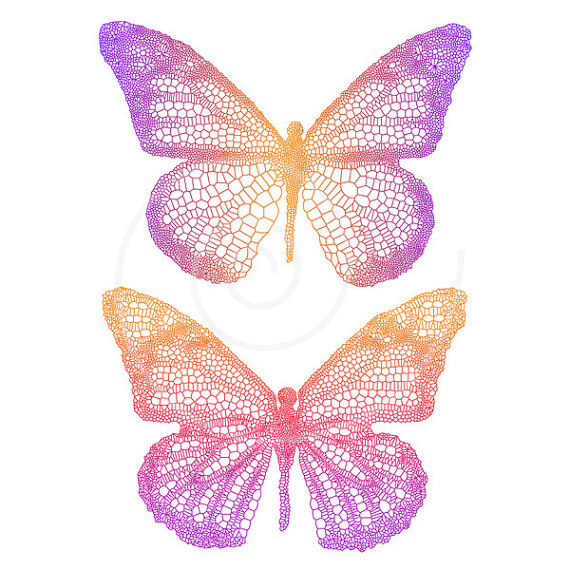 butterfly graphic design