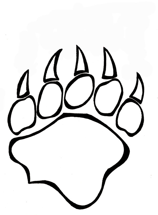 48 Bear Paw Art Free Cliparts That You Can Download To Computer