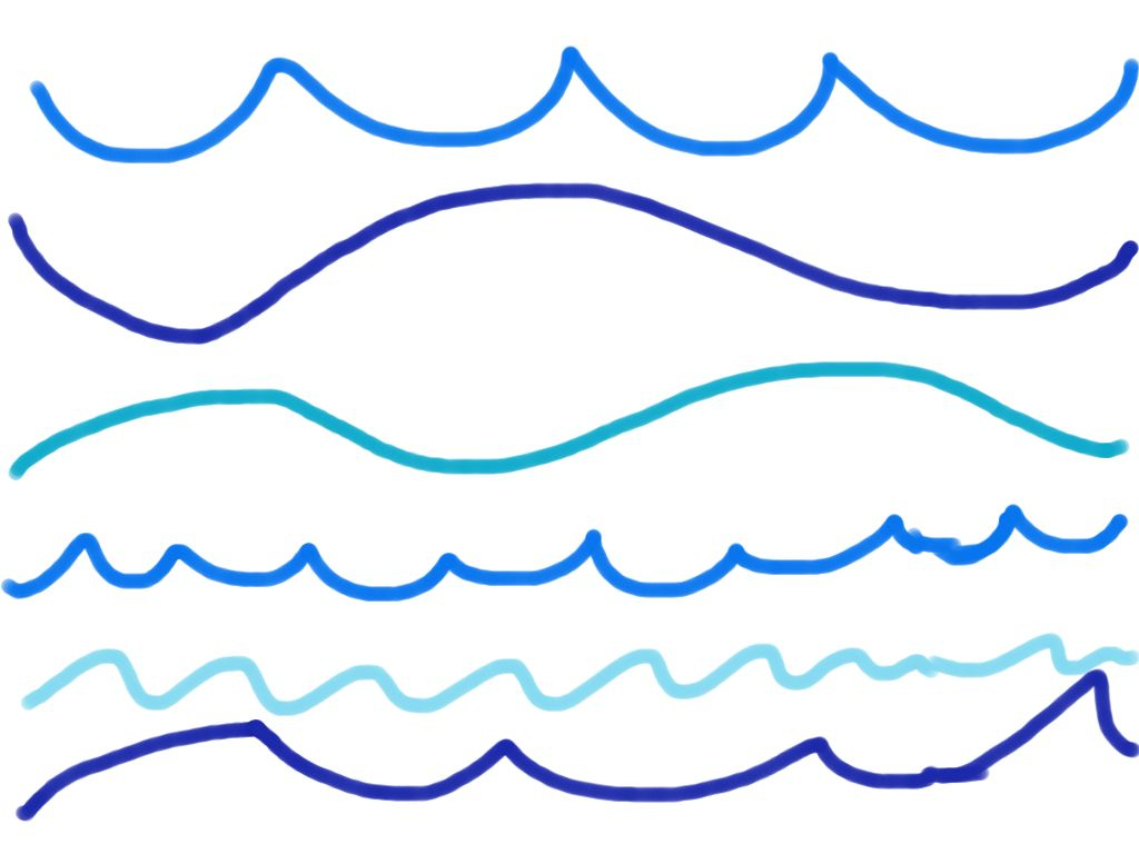Water Wave Drawing - ClipArt Best