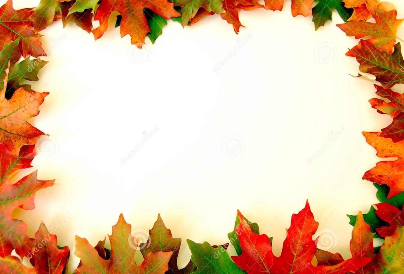Fall Leaves Border - ClipArt Best