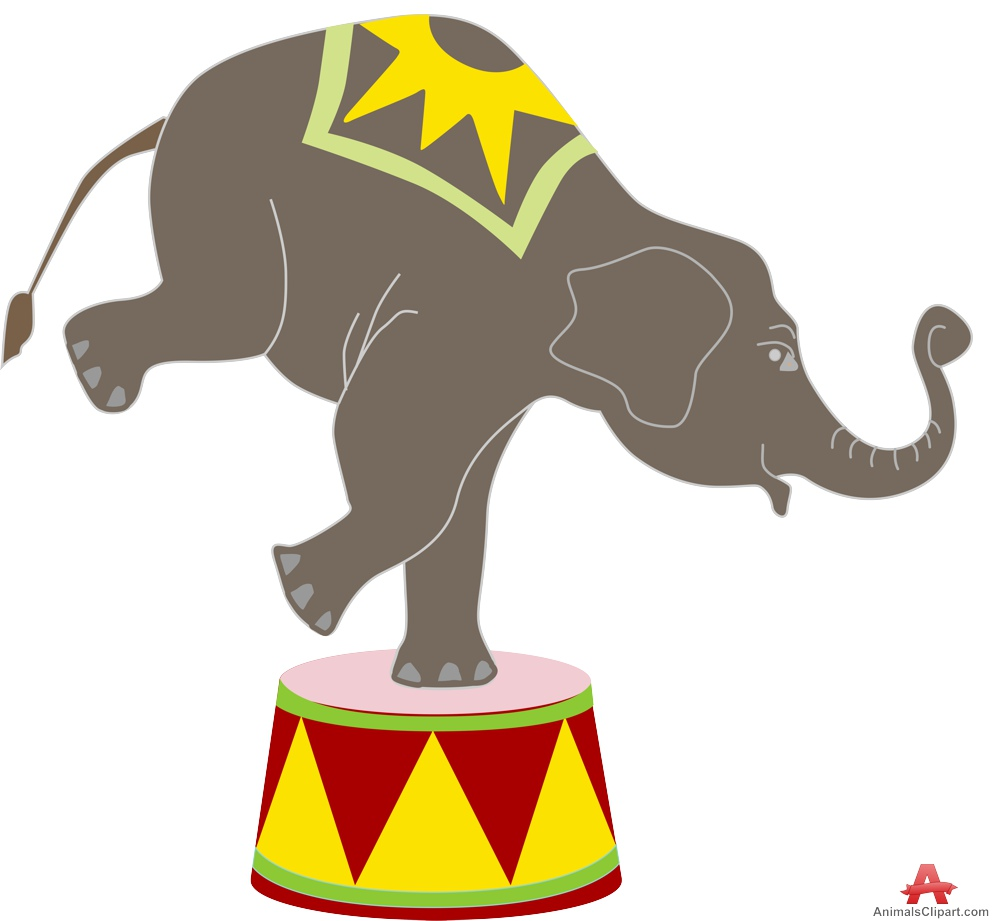Circus Elephant - ClipArt Best