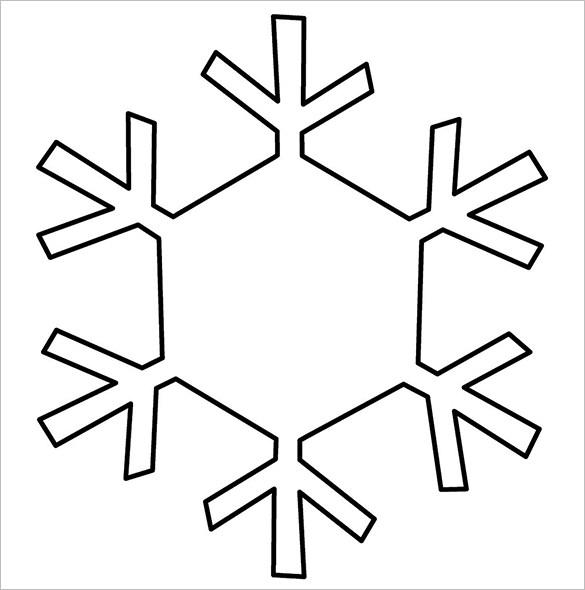 Ridiculous image throughout free printable snowflake patterns
