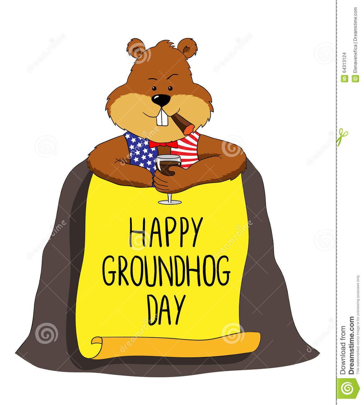 Ground Hog Day Clip Art Clipart Best