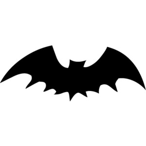 Black Flying Bats Halloween Clip Art, Free Halloween Graphic ...