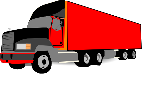 Clipart Truck And Trailer - ClipArt Best