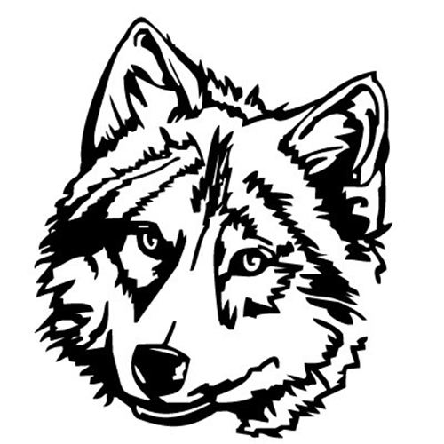 Wolf Head Picture - ClipArt Best