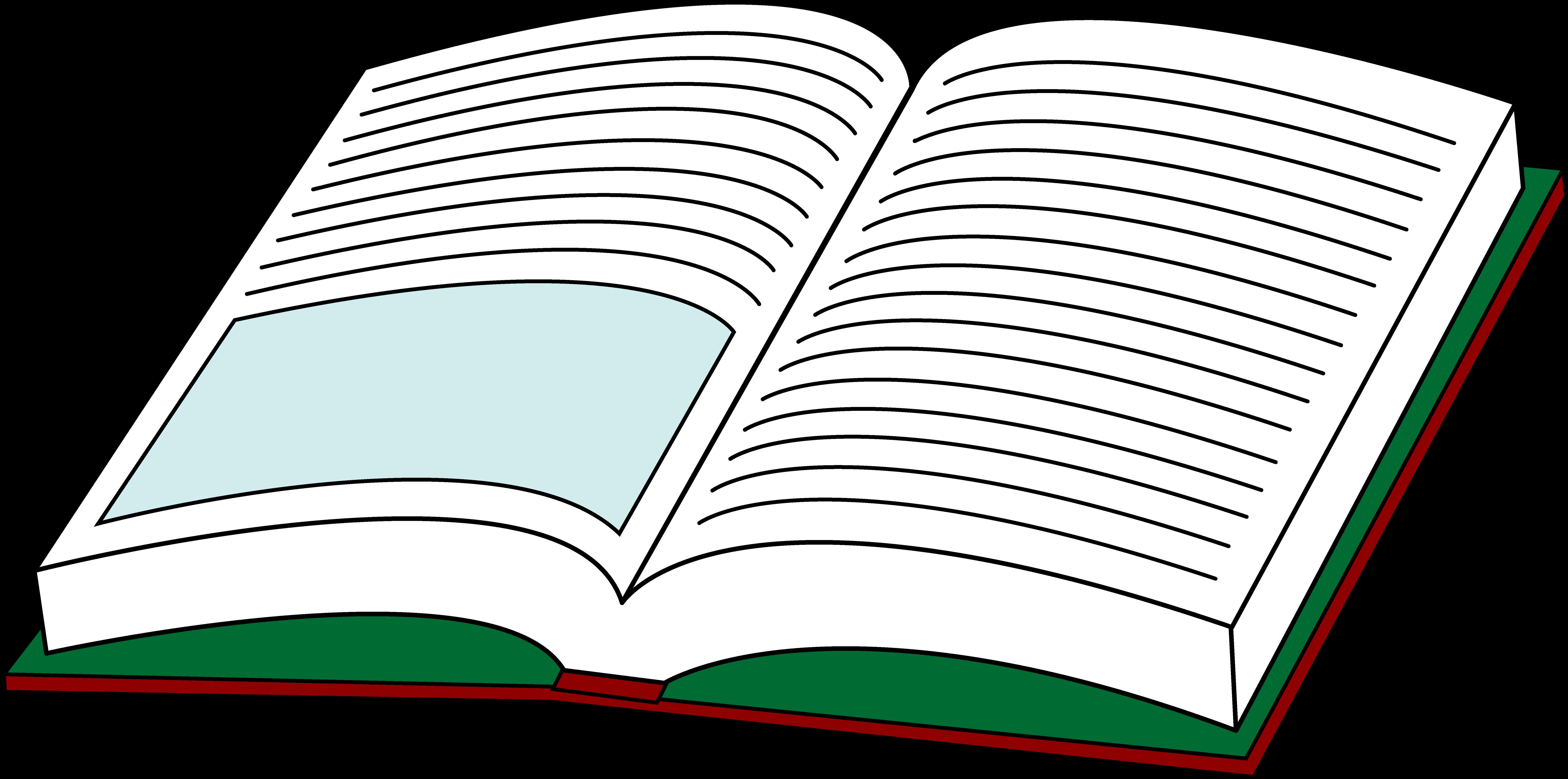 open book clip art color clipart best