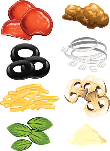 pizza toppings clipart best Pizza Illustration pizza toppings clipart