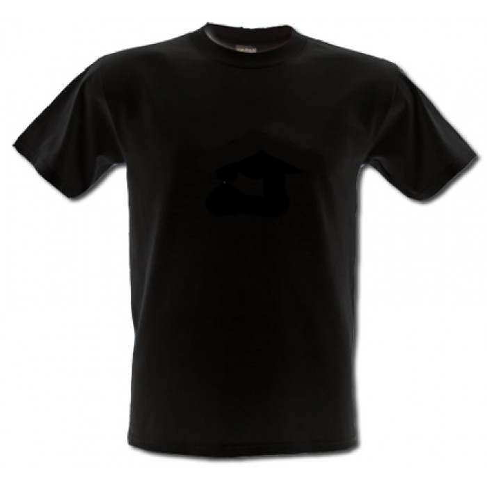 black t shirts template - photo #41