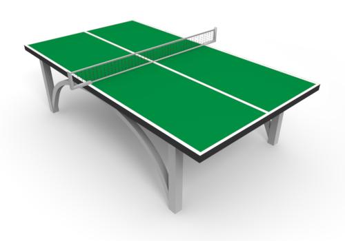 Table tennis cartoon