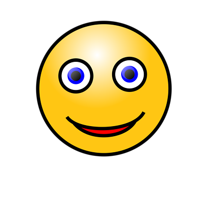 Free Stock Photos | Illustration Of A Yellow Smiley Face | # 15550 ...