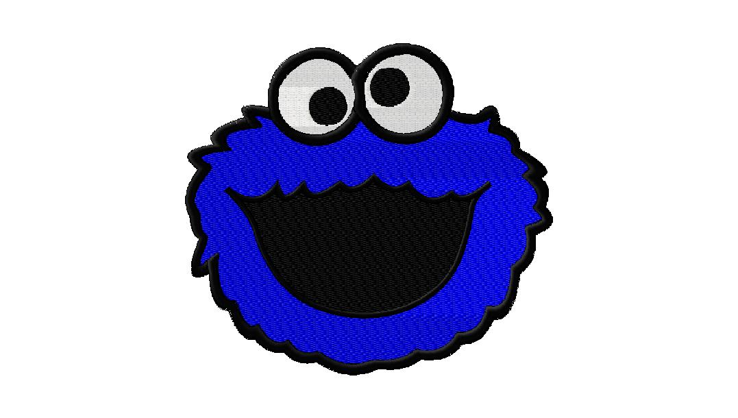 Free Cookie Monster Machine Embroidery Design