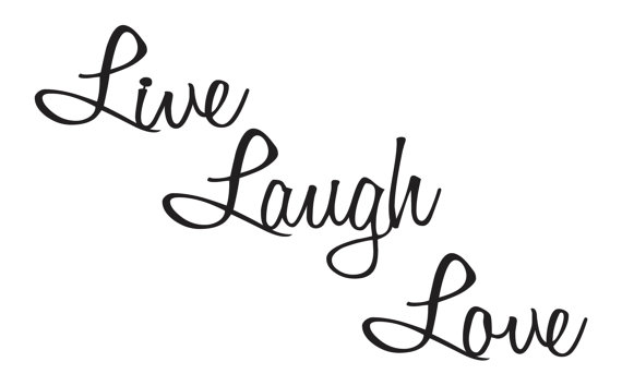 live laugh love quotes metal wall art wall by