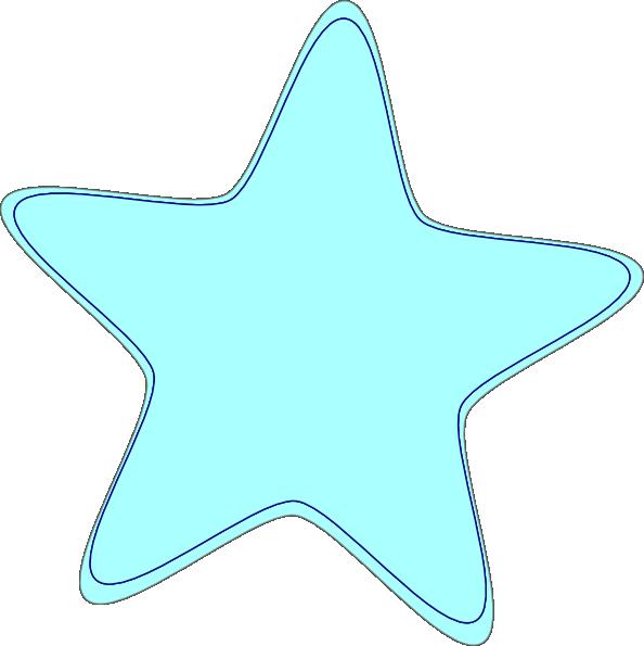 Png Cartoon Blue Star - ClipArt Best