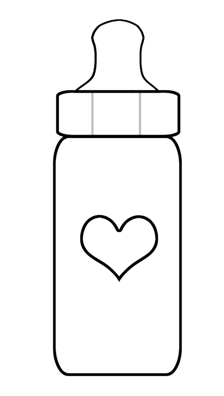 baby item coloring pages - photo#45