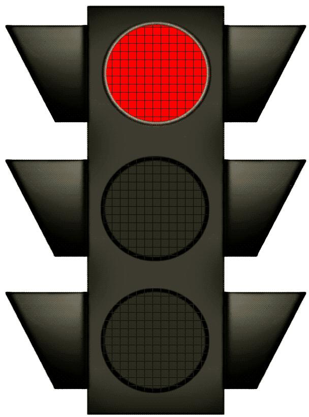 Traffic Red Light - ClipArt Best