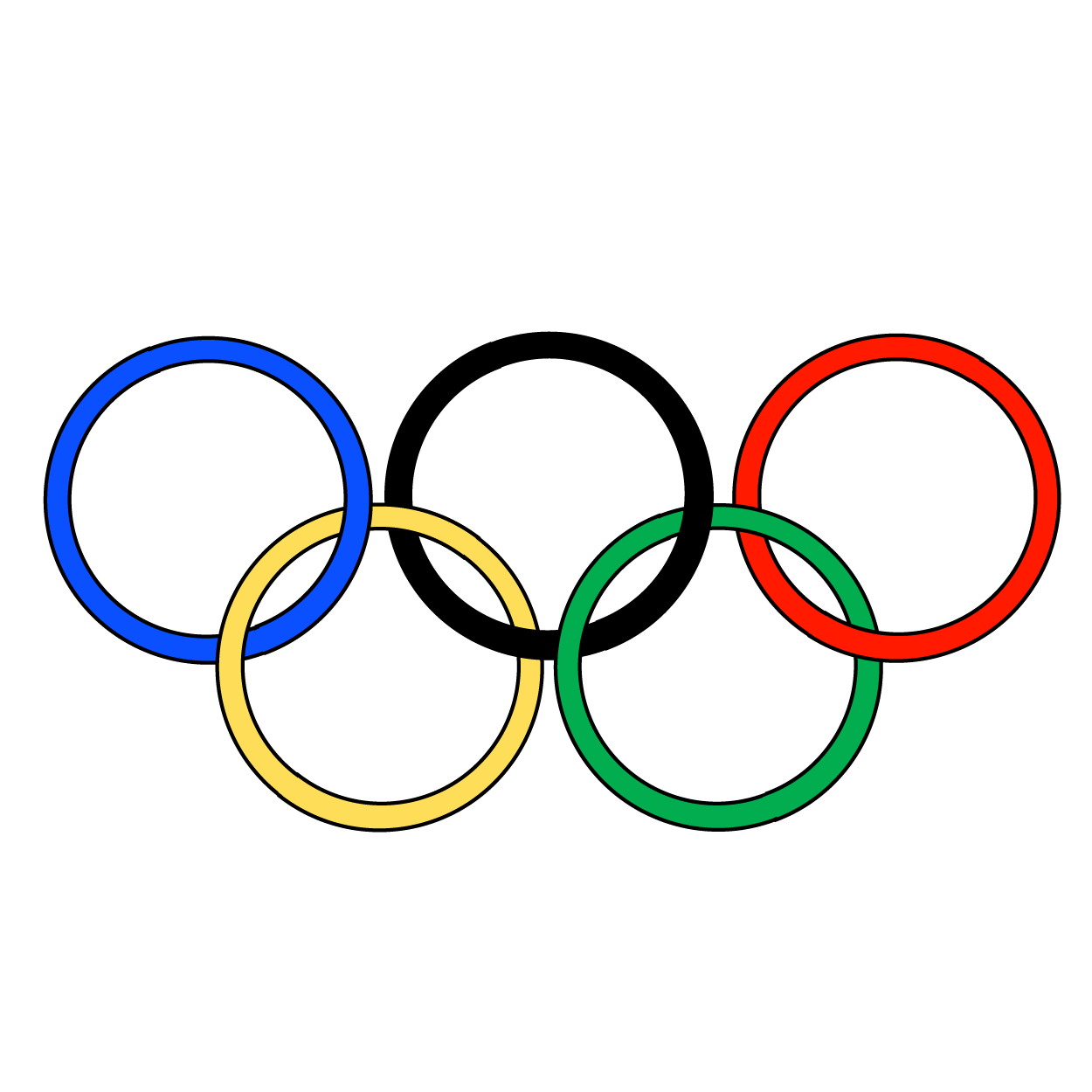 olympic symbol clip art clipart best olympic rings clip art free olympic rings clip art free black and white