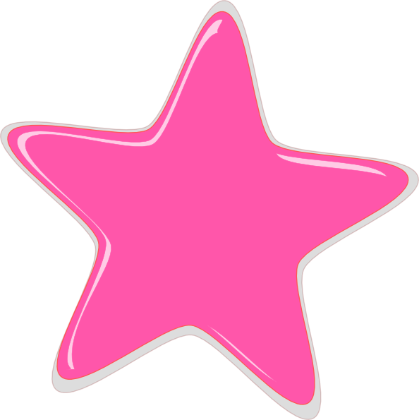 pink stars clipart best sea star clipart Sea Star Clip Art Black and White