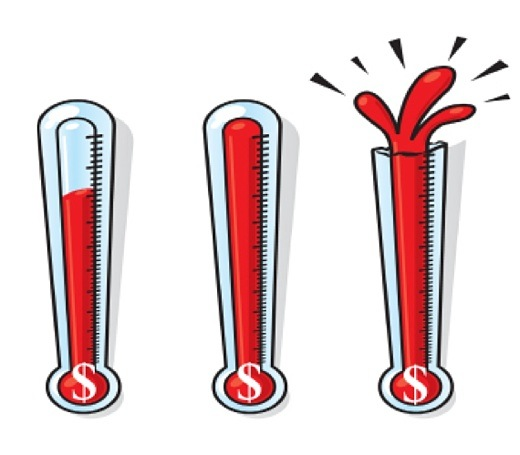 Free Fundraising Thermometer