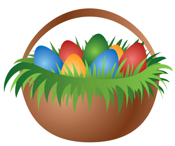 free easter basket clipart - photo #37