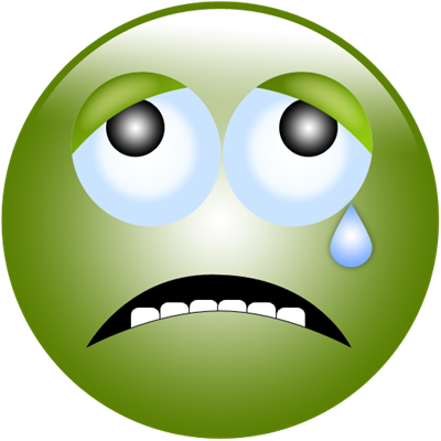 Green Sad Face - ClipArt Best