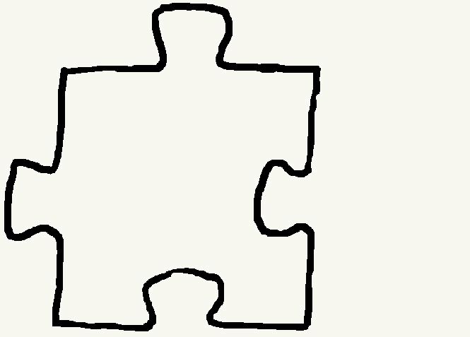 Printable Blank Puzzle Pieces - ClipArt Best