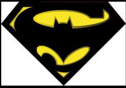 batman superman logo clipart best