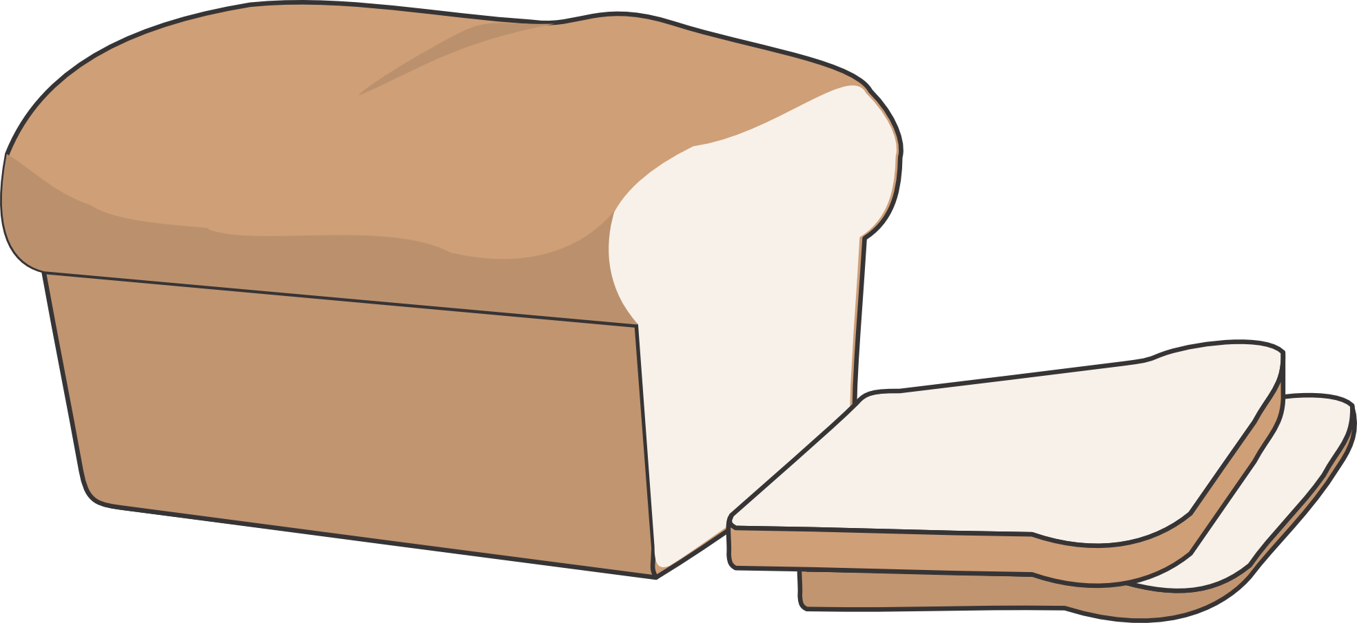 Loaf Cake Clipart : Loaf Of Bread Cartoon - ClipArt Best