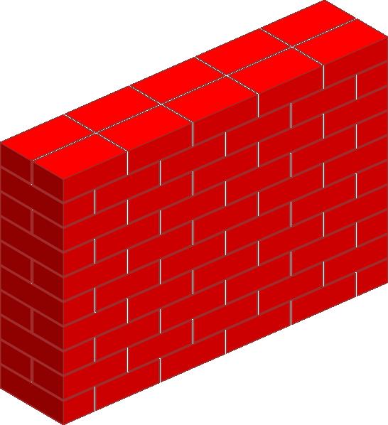 Wall Design Clipart : Cartoon brick wall clipart best