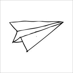 Paper Airplane Drawing Tumblr - Free Clipart Images ...