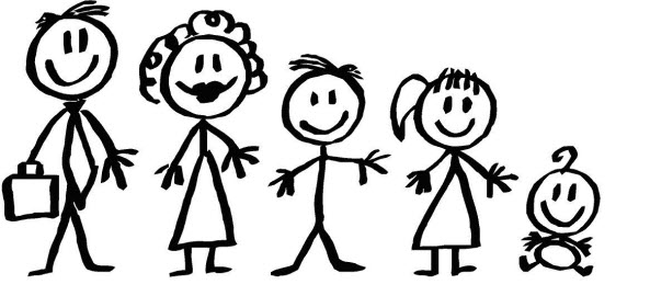 Family Figures - ClipArt Best
