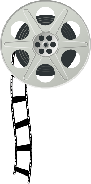 Movie Reel Vector Clipart