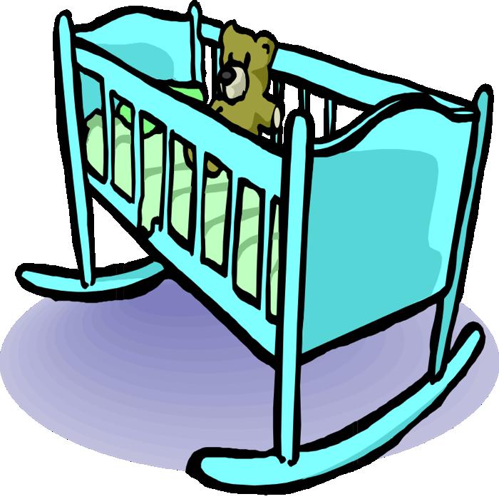 clipart baby cradle - photo #9