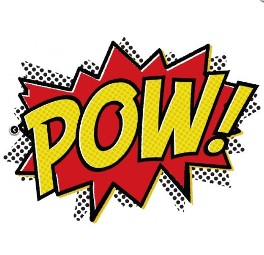 Pow Super Hero Sign - ClipArt Best
