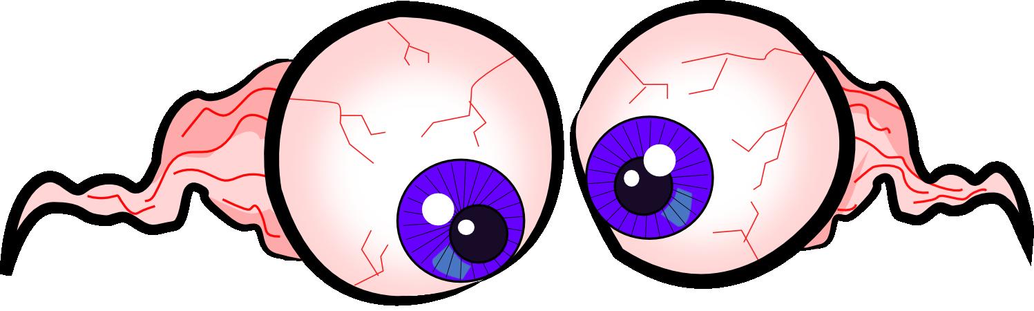 spooky eyes clip art free - photo #45