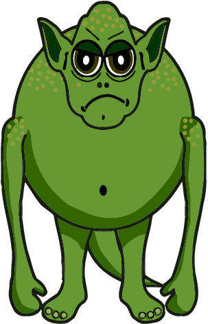 Green Monster Cartoon - ClipArt Best