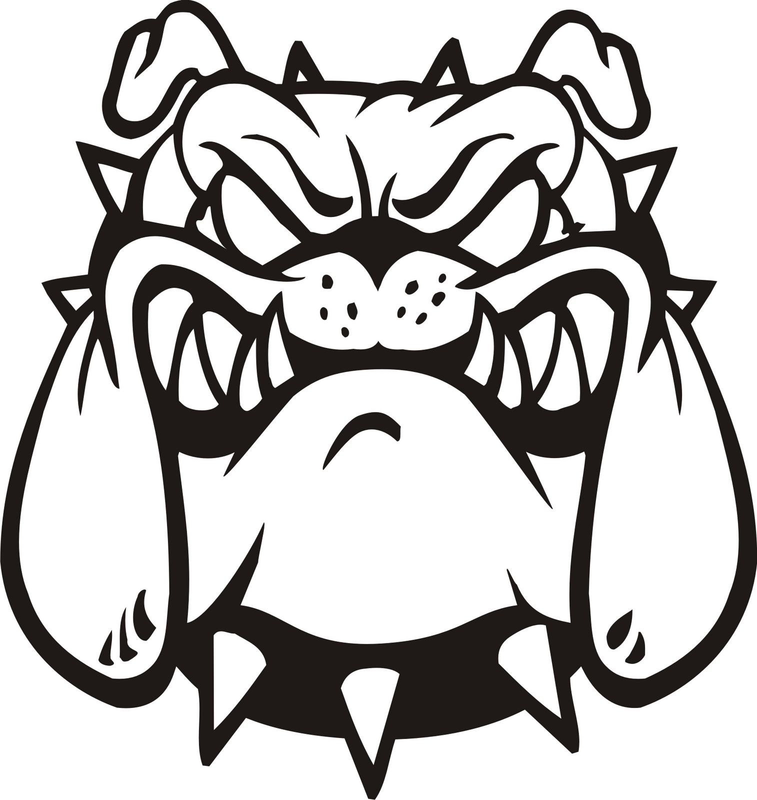 264375440600577676 in addition Bulldog Vector likewise Bulldog Mascot Clipart additionally Drawing as well Stencilindex. on uga bulldog symbol