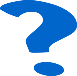 Question Mark Clip Art Png Blue Question M...