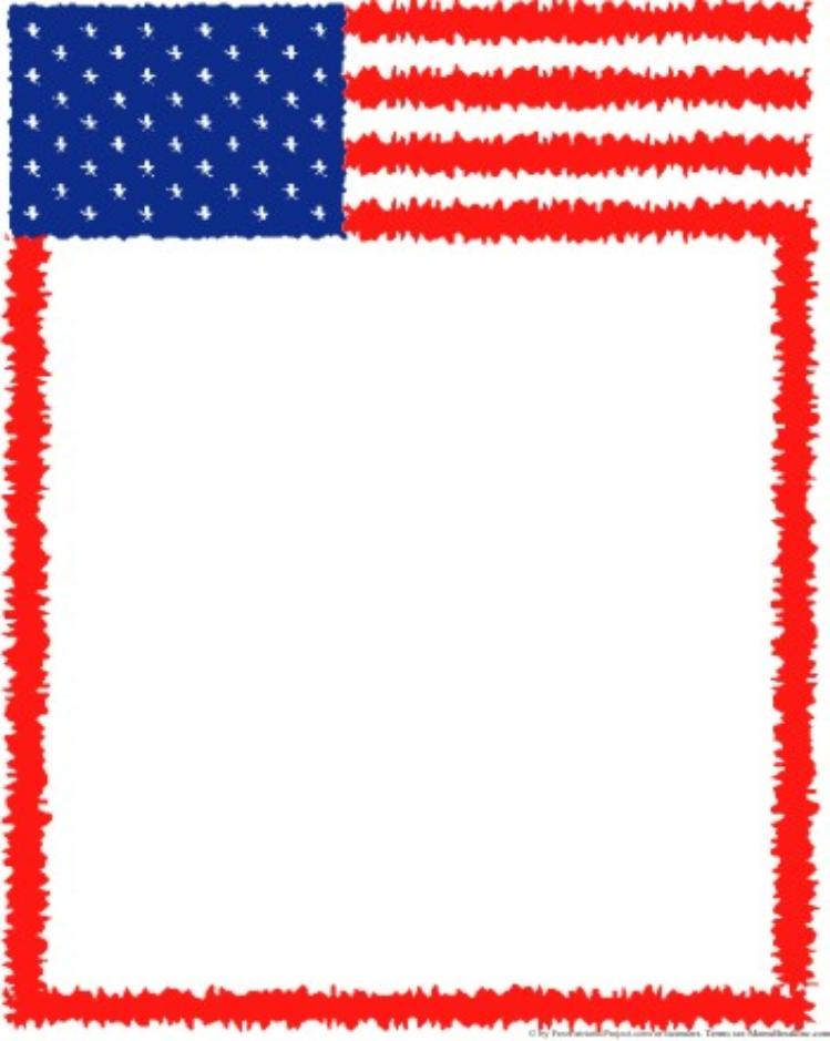 American Flag Borders - ClipArt Best